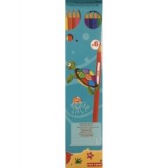 Карандаши цветные 6 цв., Star Color peps, Китай