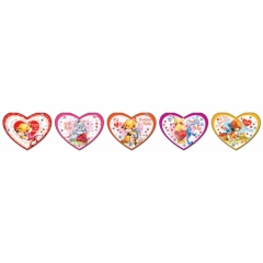 """Мини-открытка двойная, конгрев, блестки, День святого Валентина ,""""ГрандКард"""""""